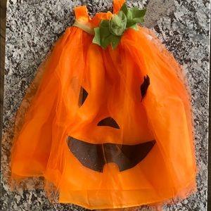 Pottery Barn Kids pumpkin tulle costume
